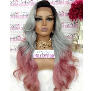 SWISS LACE FRONT WIG SIDE PART